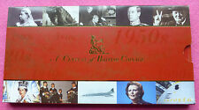 1900-1999 A CENTURY OF BRITISH COINAGE TEN COIN SET LIMITED EDITION