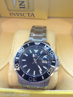 Invicta Watch Men's Pro Diver Black Dial Stainless Steel NEW