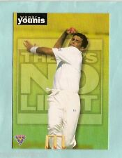1995 FUTERA THERE'S NO LIMIT CRICKET CARD TN21  WAQAR YOUNIS