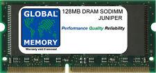 128MB DRAM SODIMM JUNIPER ERX-310/705/710/1410/1440 ROUTERS ( ERX-GEFE256M-UPG )
