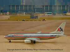 American Airlines B-737-800 (N909AN), Chrome Finish, 1:400, Dragon Wings