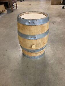 Used Raw Oak Whiskey Barrel - 3 Gallon