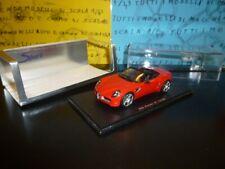 1/43 SPARK Alfa Romeo 8C Spider 2005 S0397 rosso red rouge rot rojo no NEO RARE