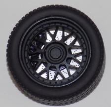 "1/18 AB Models Wheels and Tires Set 18""  BBS in Matt Black AB1027"