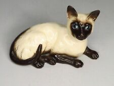 Vintage Royal Doulton Siamese Cat Figurine - Model No.1559 - Porcelain Feline
