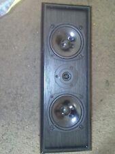 Optimus Pro-CS1 Black Center Channel Surround Sound Speaker 8 Ohms-NICE