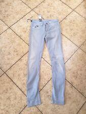 G-Star RAW Womens Skinny Jeans Lt Blue Arc 3D Super Skinny Comfort Sz 26 NWT