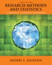 Research Methods and Statistics: A Critical Thinking Approach by Jackson, Sherr