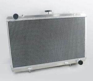 3 Reihe Aluminum Kühler Für NISSAN SILVIA 240SX 180SX S13 SR20DET 1988-1994 1989
