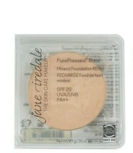 Jane Iredale PurePressed Base Mineral Foundation SPF20 Refill - Golden Glow -NEW