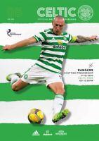 Celtic v Rangers , Scottish Premiership Programme . 20/21