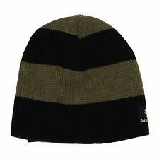 sancezz Bonnet B1011 Bonnet tricoté, couleur noire / vert, 90085