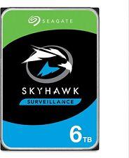 "Seagate Skyhawk HDD 6 TB interne Festplatte ST6000VX001 3,5"" 256 MB Cache SATA3"