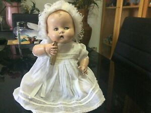 Antique RARE ARRANBEE All Composition BOTTLETOT Baby Doll ca1926 33cm Ht
