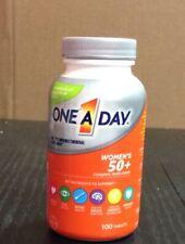 One-A-Day Women's 50+ Advantage Multivitamin/Multimineral Tablets 100 ea