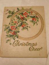 Christmas Cheer Garland Series Buffalo The Hayes Lithographing Company Rare Poem