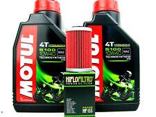Motul 5100 10w40 ACEITE DE MOTOR PARA 2 litros + Filtro HIFLO HF155 KTM HUSABERG