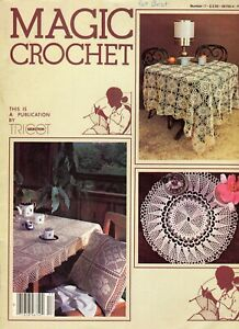 Magic Crochet Magazine #17 Doilies