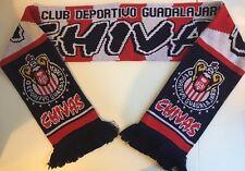 CHIVAS (GUADALAJARA) Football Scarves New from Soft Luxury Acrylic Yarns