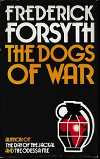 THE DOGS OF WAR by FREDERICK FORSYTH hc/dj 1ST ED 1974