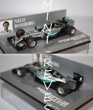 Minichamps F1 Mercedes AMG W06 N. Rosberg 2015 1/43 410150206