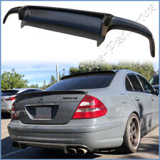 For 03-06 Benz W211 E55AMG Sport Package Bumper CF Carbon KP Type Lower Diffuser