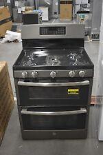 "Ge Jgb860Eejes 30"" Slate Freestanding Double Oven Electric Range Nob #49085 Hrt"