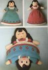 KNITTING PATTERN Jean Greenhowe Topsy Turvy Doll Reversible Dress 37cm Toy RARE