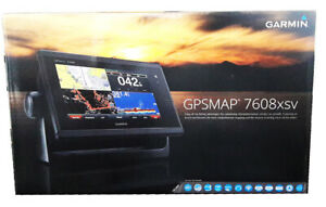 Garmin GPSMAP 7608xsv CHIRP ClearVu SideVu Chartplotter + G2 Bluechart & Lakes