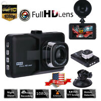 1080P HD dash Cam Car DVR Dash Camera Car Video Recorder Night Vision G-Sensor