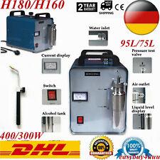 Sauerstoff Wasserstoff Hho Gas Generator Polierend Maschine 400W 95/75L + Torch