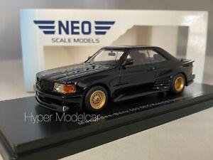 NEO 1/43 MERCEDES 500 SEC KOENIG SPECIALS COUPÈ 1985 BLACK ART. NEO46600