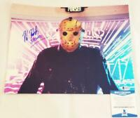 KANE HODDER SIGNED 11x14 PHOTO JASON FRIDAY 13TH BECKETT BAS COA 773