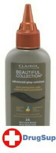 BL Clairol Beautiful Ags Coll. #2A Rich Dark Brown 3 oz - Two PACK