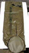Unused Military Green Camo Support Rubberized Carry Duffel Bag New Condition Bag