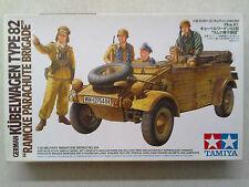 "Tamiya 35304 German Kübelwagen Type82 ""Ramcke Parachute Brigade"" 1:35 Neu in OVP"