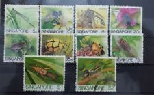 Singapore 1985 Insects Definitive Short set to $2 used