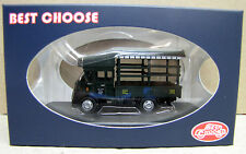 "Best Choose Diecast 1/76 HK Leyland Lorry Soft Top ""Chow Kee"" (Green)"