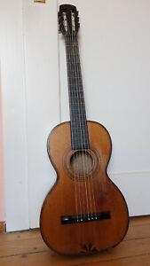 Antike Parlor- Salon- Gitarre ca. 1910- 1920