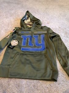 Nike New York Giants Salute To Service Hoodie. Youth Small. Brand New 🏈.