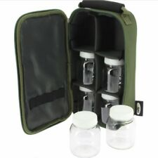 Glug Pot Bag Boilie Pop up Bait Holdall Carp Fishing Tackle Accessory Case NGT