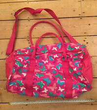 Smiggle Butterfly holdall. 44cms. Two Large Pockets. Handles And Body Strap.