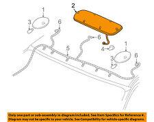 SILVERADO SIERRA YELLOW ROOF MARKER LIGHT 2001-2006 NEW OEM GM  15219564