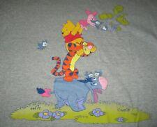Vintage Disney POOH Label - WINNIE THE POOH Piglet TIGGER Eeyore (XL) T-Shirt