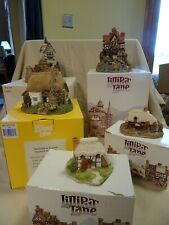 Lilliput Lane Cottages (Set of 5) all with boxes and one with deed.