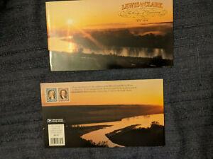 Scott BK297 -- Lewis & Clark.  Two full mint booklets