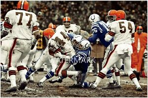 Leroy Kelly Browns vs. Colts  PRINT (4 sizes)