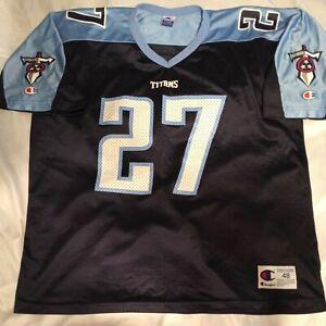 Champion Tennessee Titans Eddie George 27 Jersey Men's Size 48
