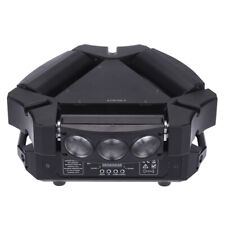 120W 9LED RGBW DMX512 Spider Stage Lighting Moving Head Party Light