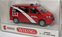 Wiking 1:87 VW T5 Bus Multivan OVP 0601 58 Berliner Feuerwehr - Berlin